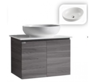 Soild Top Cabinet With Basin